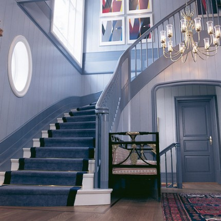 trapper kan være en herskapelig trapp
