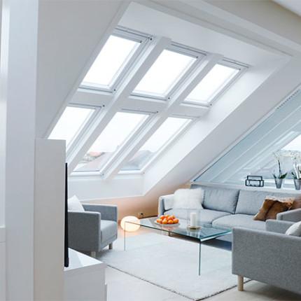 vinduer fra velux med mange muligheter