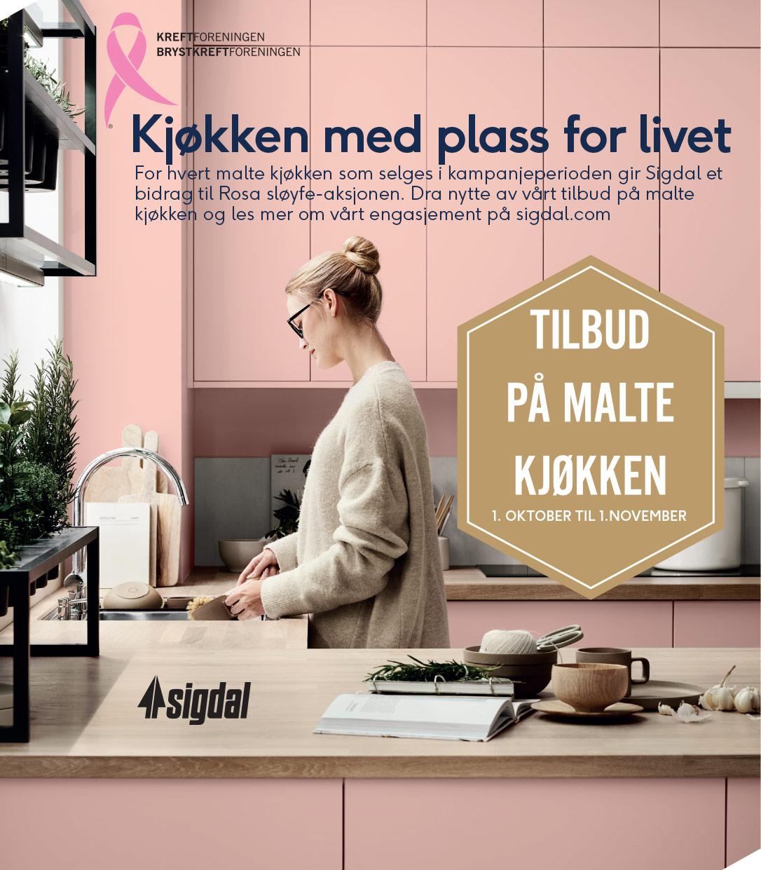 Kampanjeplakat for Sigdal Kampanje