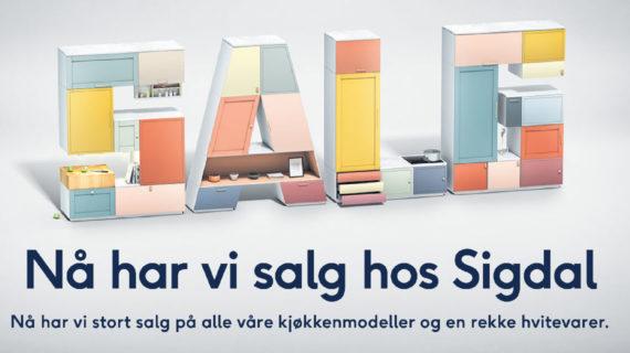 Sigdal kampanje grafikk