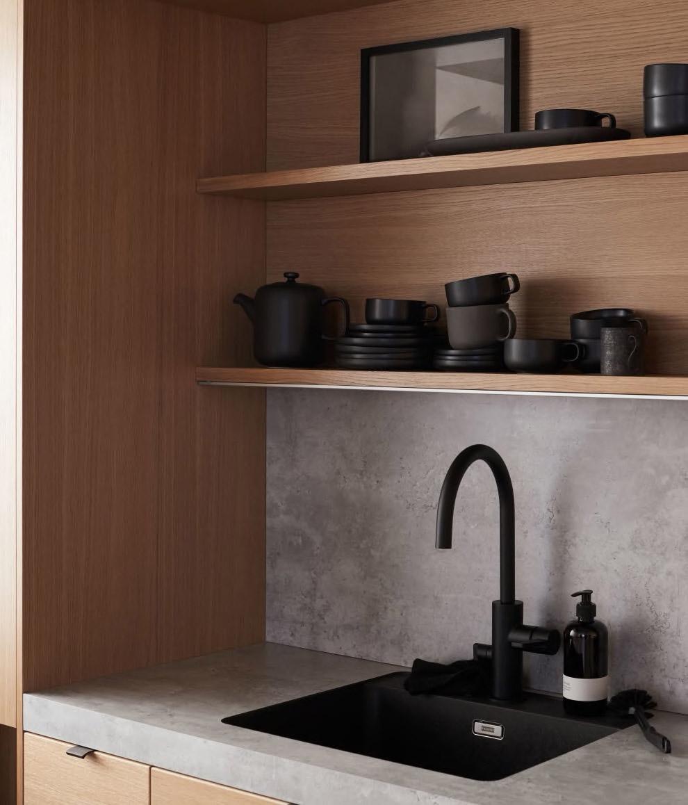 Sigdal kjøkken med vask