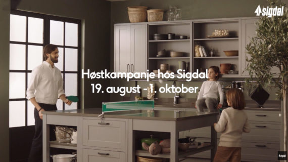 Sigdal kampanje august 2019 - Gulli Trevarefabrikk